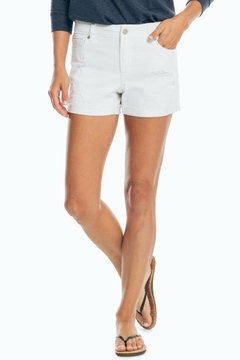 Southern Tide Hayes Distressed-Denim Short - Product List Image