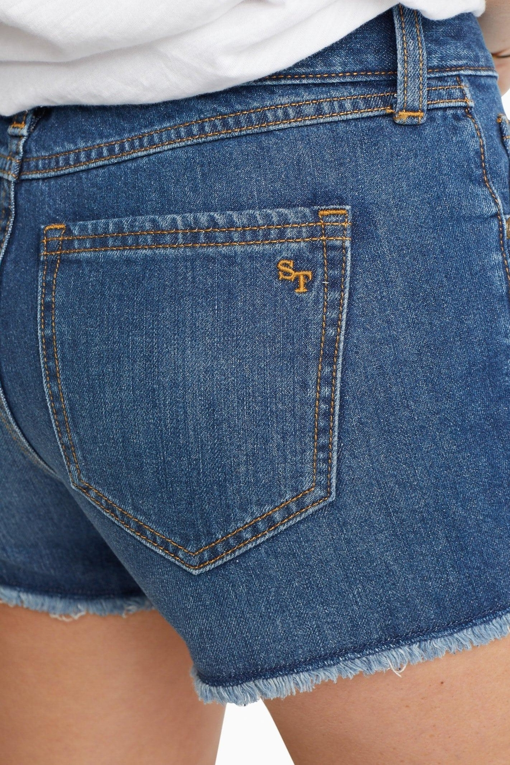 Southern Tide Hayes Jean Short - Side Cropped Image