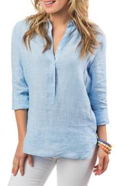 Southern Tide Linen Hadley Popover - Product Mini Image