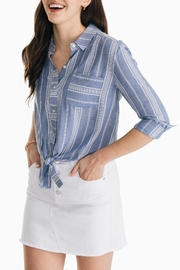 Southern Tide Madelyn Tie-Front Shirt - Front cropped