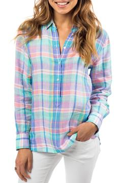 Southern Tide Colorful Plaid Shirt - Product List Image