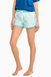 Southern Tide Palm Lounge Short - Front cropped