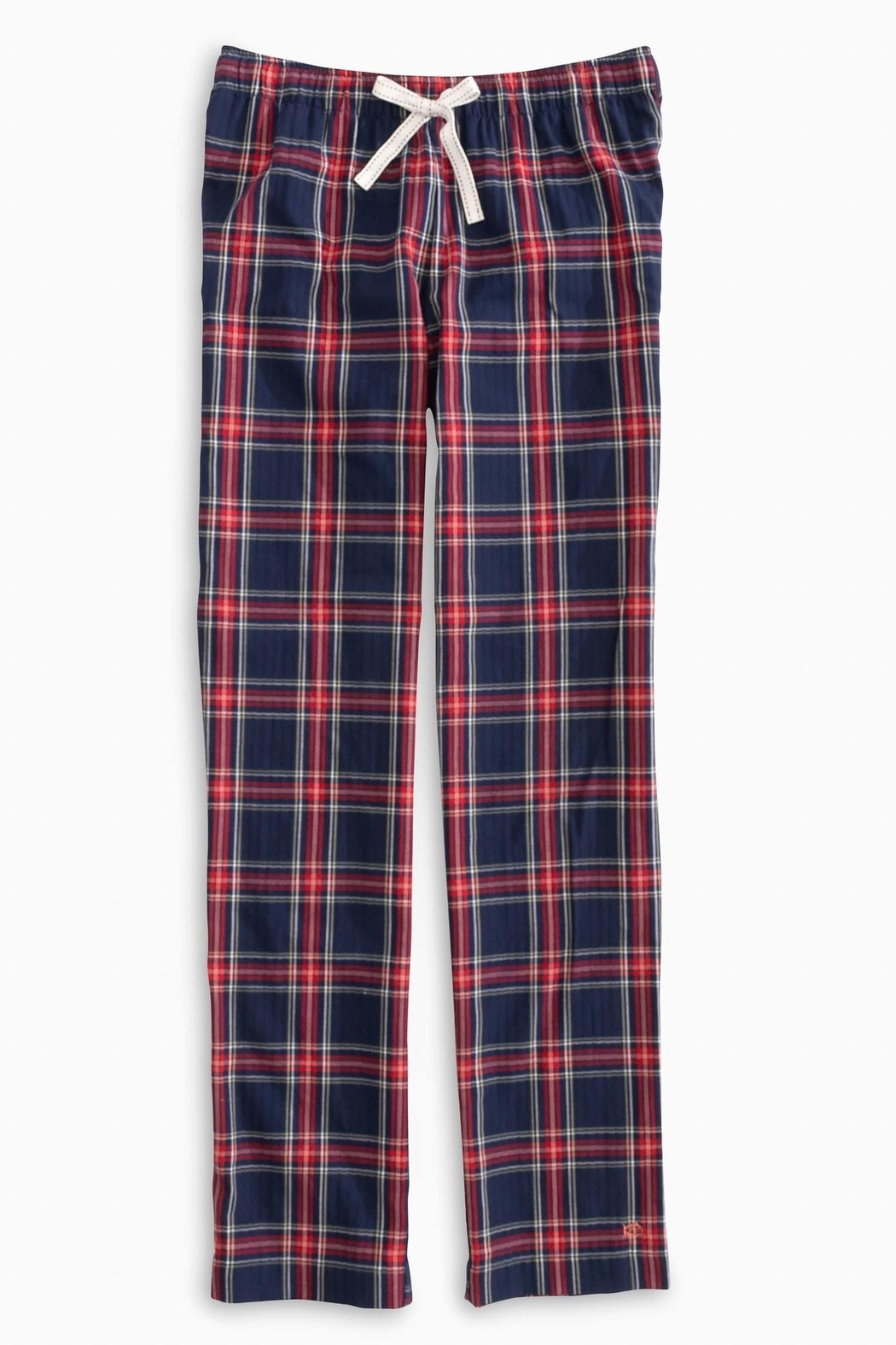 Southern Tide Plaid Lounge Pant - Front Cropped Image