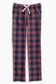 Southern Tide Plaid Lounge Pant - Front cropped