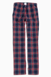 Southern Tide Plaid Lounge Pant - Front full body