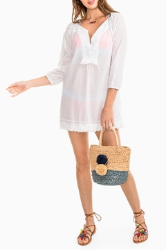 Southern Tide Shelli Embroidered Tunic - Product List Image