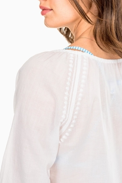 Southern Tide Shelli Embroidered Tunic - Alternate List Image