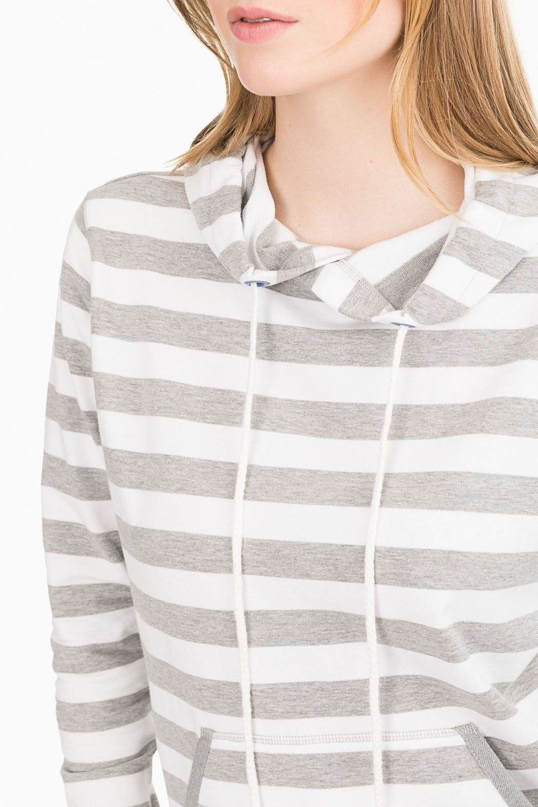 Southern Tide Soleil Striped Hoodie - Front Full Image