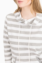 Southern Tide Soleil Striped Hoodie - Front full body