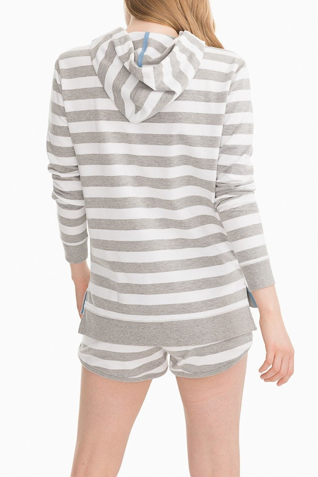 Southern Tide Soleil Striped Hoodie - Side Cropped Image