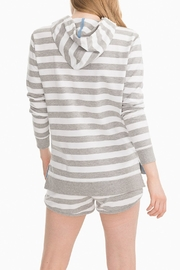 Southern Tide Soleil Striped Hoodie - Side cropped