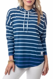 Southern Tide Stripe Skipper Hoodie - Product Mini Image