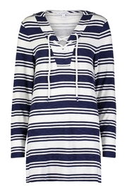 Southern Tide Striped Laceup Tunic - Product Mini Image