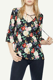 Viereck Southie Tie Neck Bell Sleeve Blouse - Product Mini Image