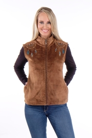 Venerio Southwest Embellished Vest - Product Mini Image