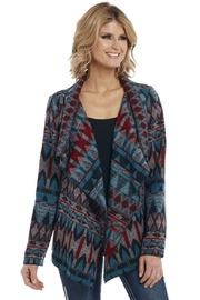 Cripple Creek Southwest Print Jacket - Front cropped