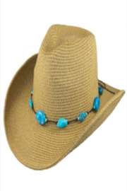 Too Too Hat Southwestern Cowboy Hat - Front cropped