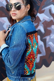 Minx Southwestern Denim Jacket - Product Mini Image