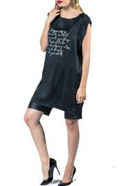 Sova Black Silk Tunic - Product Mini Image