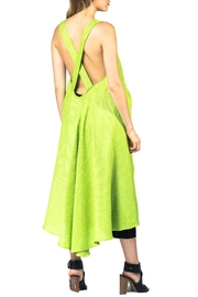 Sova Lime Crisscross Tunic - Side cropped