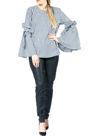 Sova Flirty Ruffle Blouse - Product Mini Image