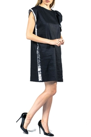 Sova Ruffle Shoulder Dress - Front full body
