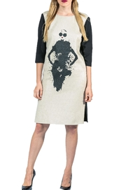 Sova Terry Coloblock Dress - Product Mini Image