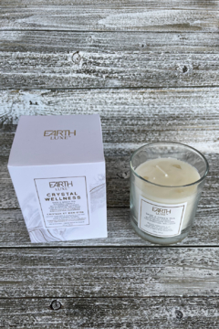 Giftcraft Inc.  Soy Candle w Wellness Crystals - Alternate List Image