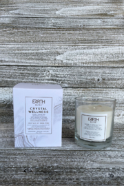 Giftcraft Inc.  Soy Candle w Wellness Crystals - Product Mini Image