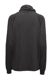 Soyaconcept Cowl-Neck Sweatshirt - Front full body