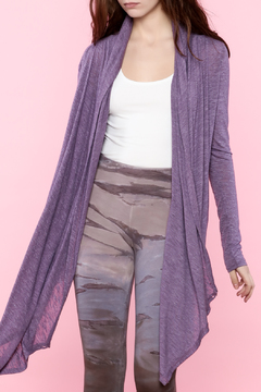 Shoptiques Product: Purple Shelby Wrap