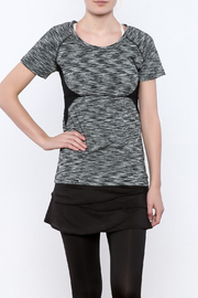 Soybu Space Dye Workout Tee - Front cropped