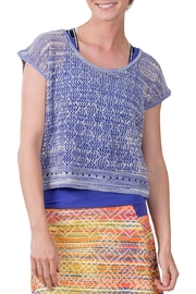 Soybu Sunset Crew Top - Front cropped