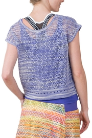 Soybu Sunset Crew Top - Front full body