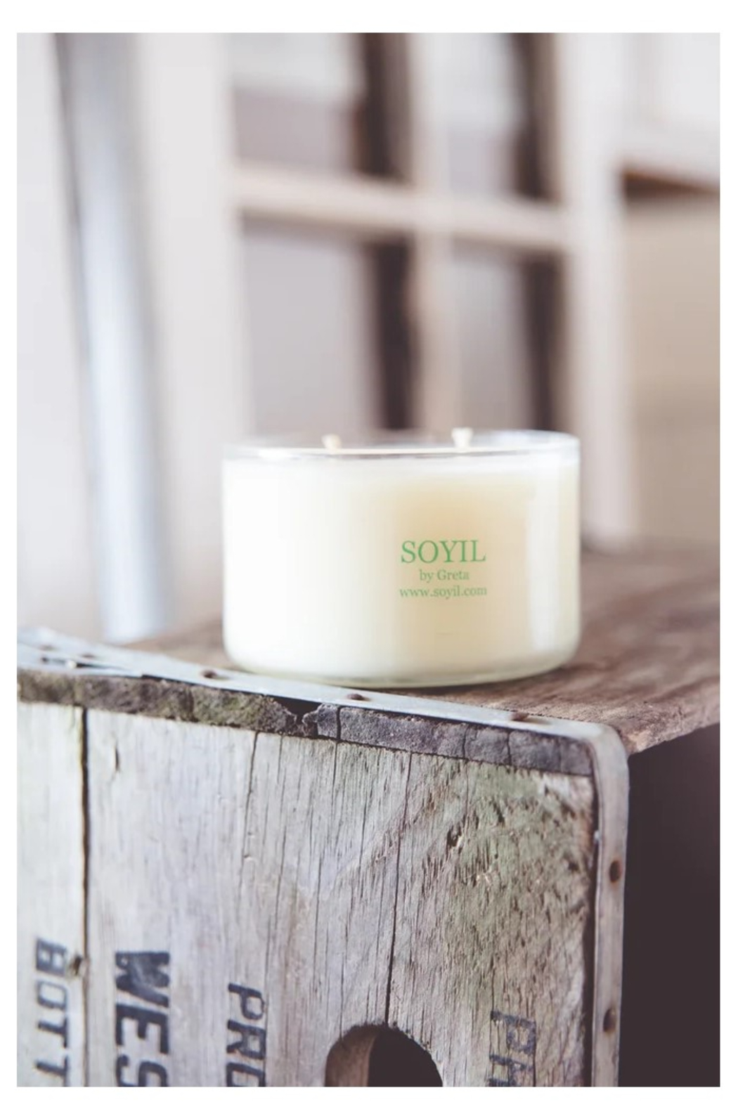 Soyil by Greta Soyil Candles - Front Full Image