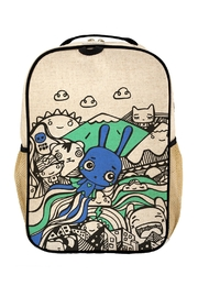 SOYOUNG Printed Backpack - Front cropped