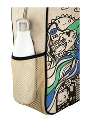 SOYOUNG Printed Backpack - Back cropped