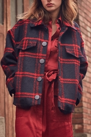 FRNCH Soyra Plaid Jacket - Product Mini Image