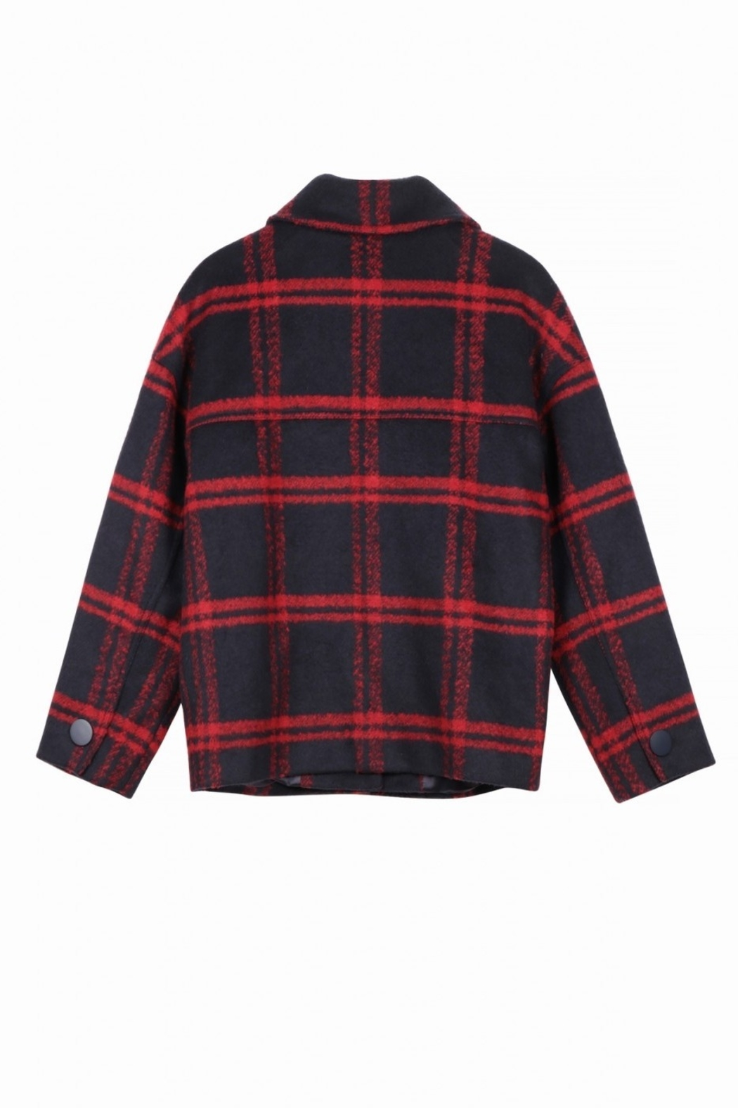 FRNCH Soyra Plaid Jacket - Side Cropped Image