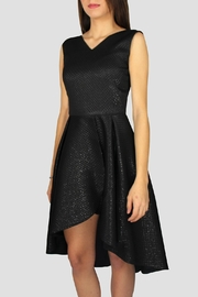 SoZu Cross Highlow Dress - Front full body