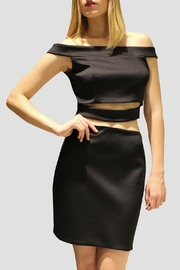 SoZu Cut Out Stomach Dress - Product Mini Image