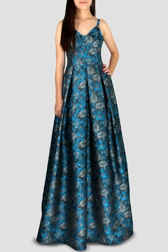 Shoptiques Product: V-Neck Bell Gown