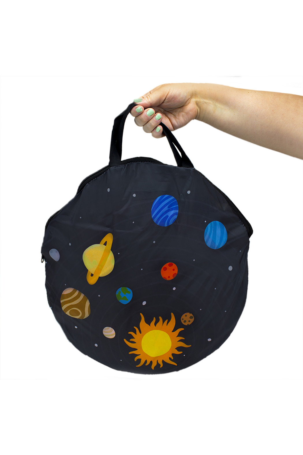 Brybelly Space Adventure Roarin' Rocket Play Tent - Back Cropped Image