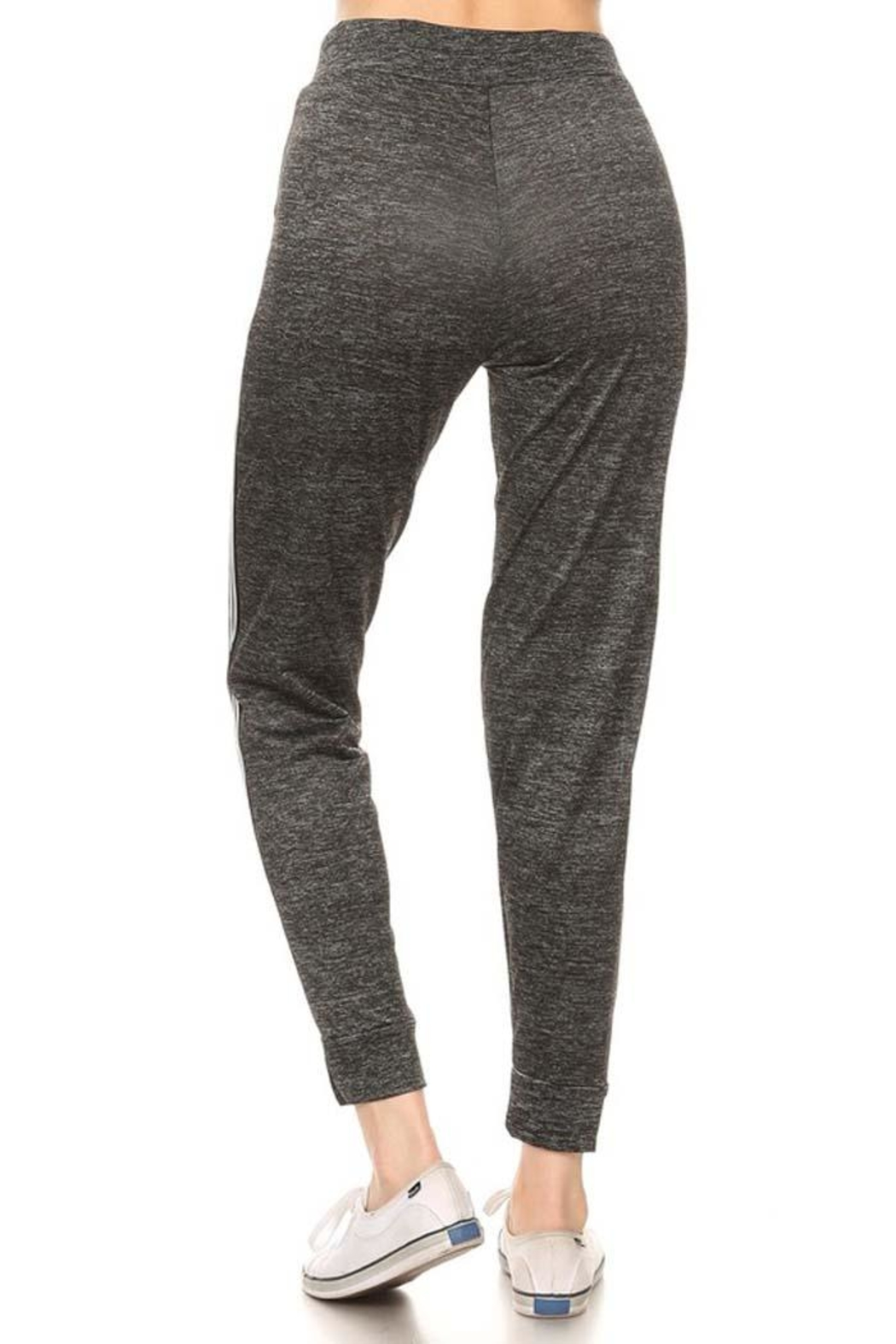 LEGGINGS MANIA Space Dye Jogger - Side Cropped Image