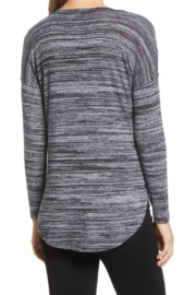 Bobeau Space Dyed Knit Top - Side cropped