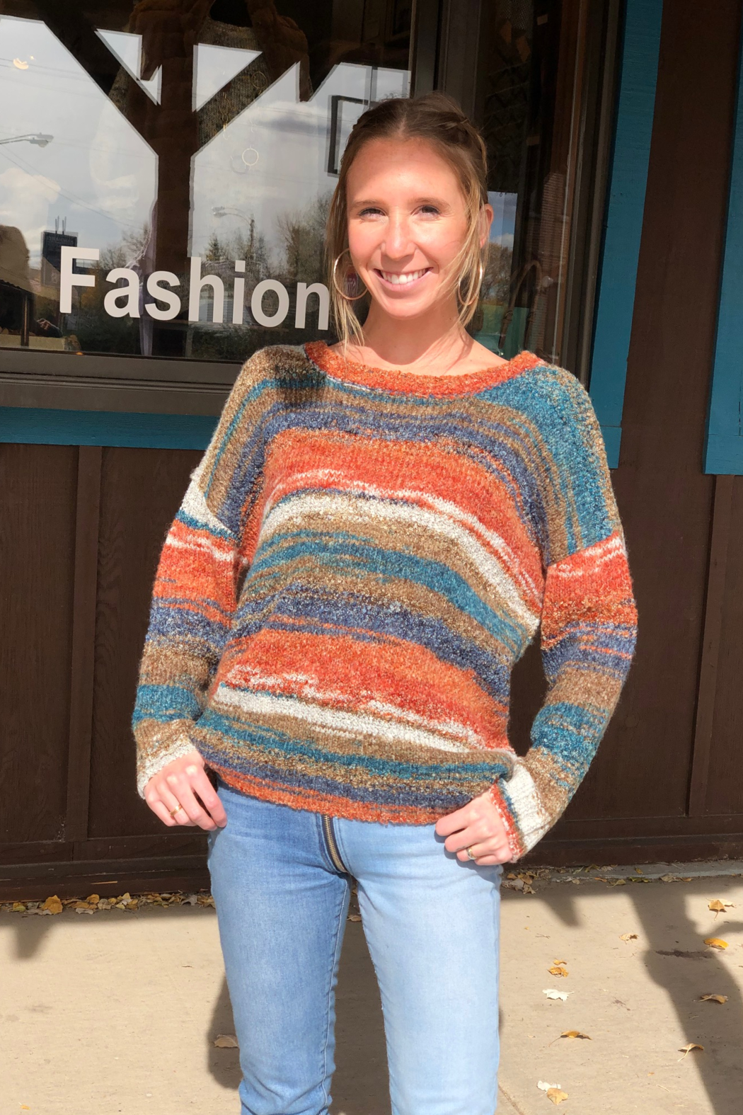sisters Space Dyed Sweater - Main Image