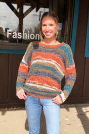 sisters Space Dyed Sweater - Front cropped