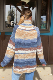 sisters Space Dyed Turtleneck - Side cropped