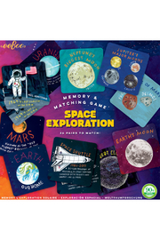 Eeboo Space Exploration Memory Game - Product Mini Image