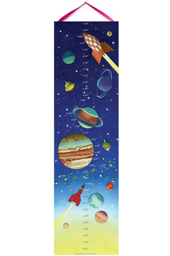 Eeboo Space Growth Chart - Alternate List Image